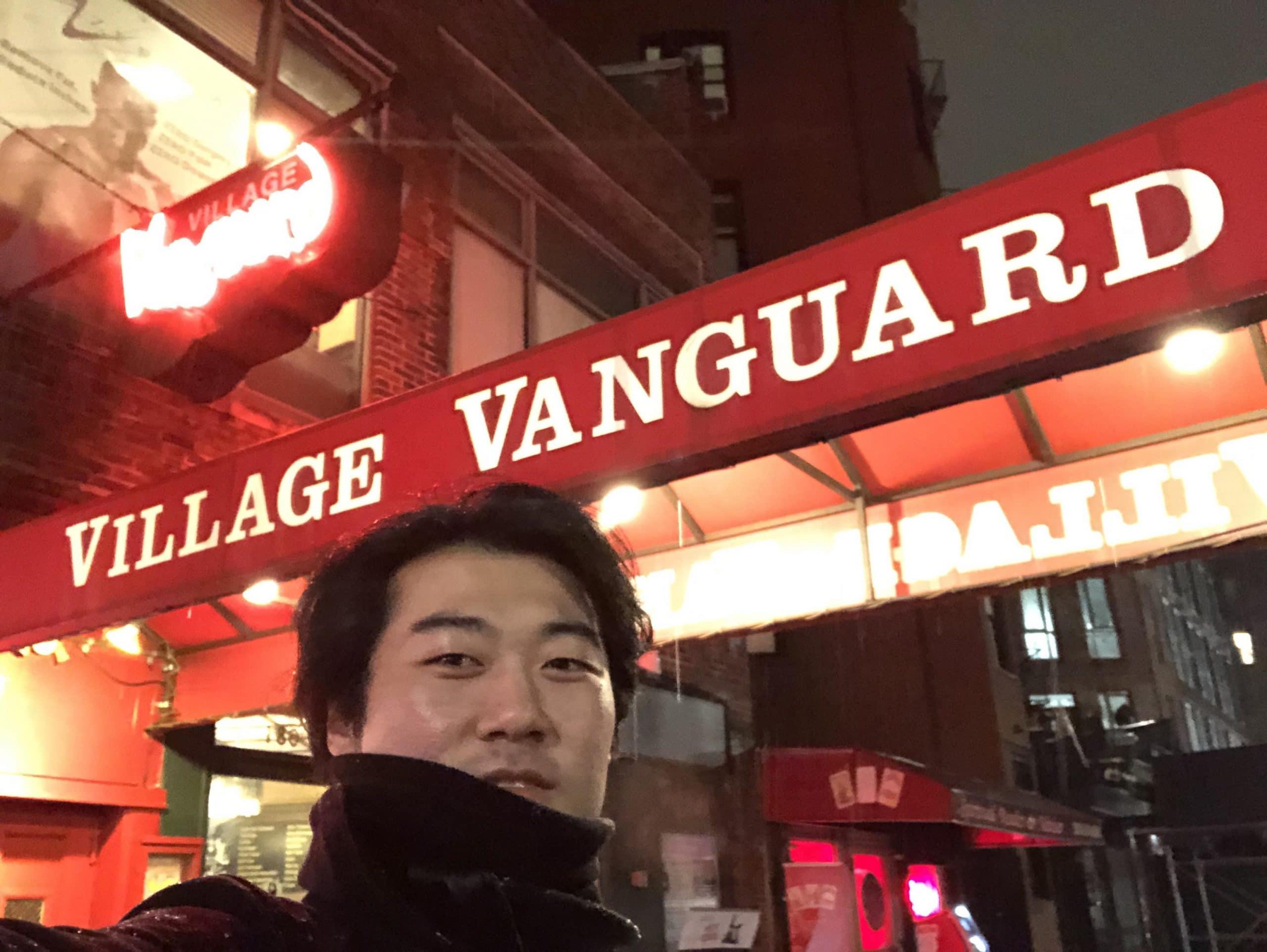 憧れのヴィレッジ・ヴァンガード。ここで録られたビル・エヴァンスの《ワルツ・フォー・デビイ》で音の世界観が変わりました。@ニューヨーク