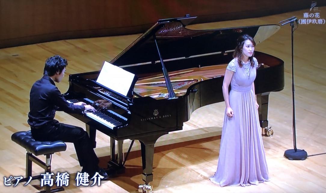 NHKの放送より。松浦恵さんと。@東京オペラシティ コンサートホール